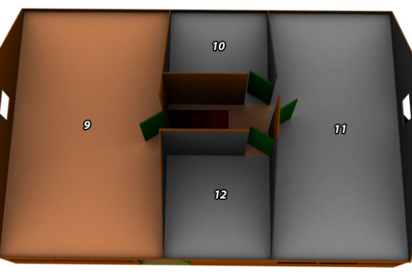 Boven verdieping